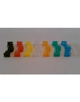 ORION PRODUCTS SERVO SAFETY CLIP (10PCS) GREEN [OR-SCLIP-G]