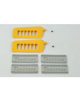 Tarot 500 Flyber Paddle Yellow FYTL50009-02
