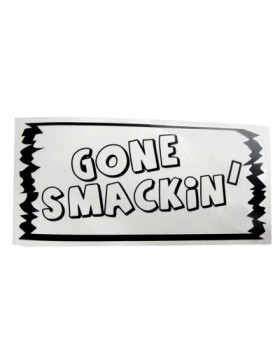 FUD-110GS Gone Smackin' decal (110 x 50mm - 4.4 x 2inches)