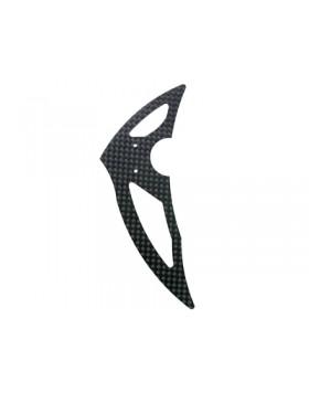 Carbon Fiber Vertical Fin – BLADE 300X Model #: MH-300X064VF