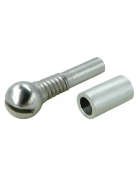 Precision CNC Steel Ball w/Pin Sleeve set (for MH-MCPX012/112/X) Model #: MH-MCPX012AS