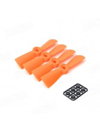 3×4.5R Propeller Orange 4pcs DT-PC3045R-O
