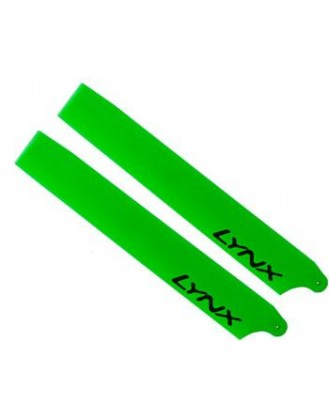 LX61052 - MCPX - Lynx Plastic Main Blade 105 mm - Green Neon