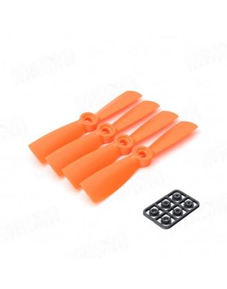 4×4.5R Propeller Orange 4pcs DT-PC4045R-O