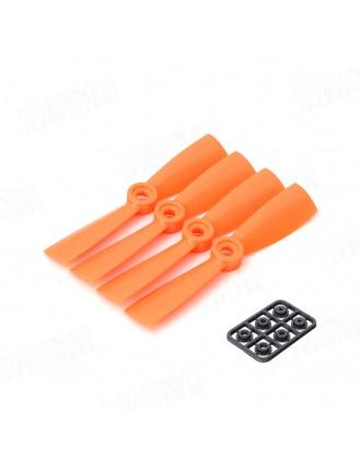 4×4.5 Propeller Orange 4pcs DT-PC4045-O