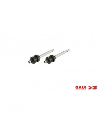 GAUI X3 TAIL OUTPUT SHAFT WITH PULLEY X 2 PCS [G-216214]