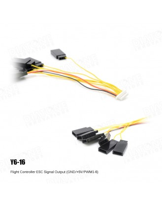 Flight Controller Thin series Wire Y6-16