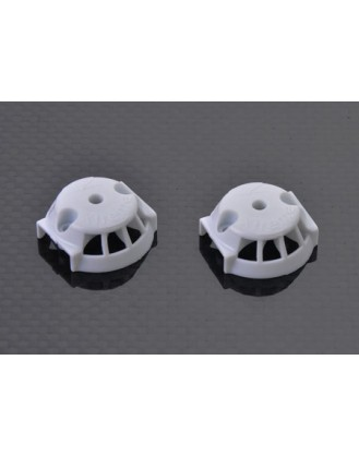 Plastic Cover for carbon blade (1 pair) White- Blade 350QX