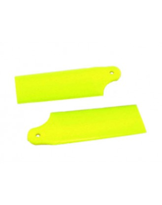 KBDD Extreme Edition 130X Tail Blade – Neon Yellow 5251