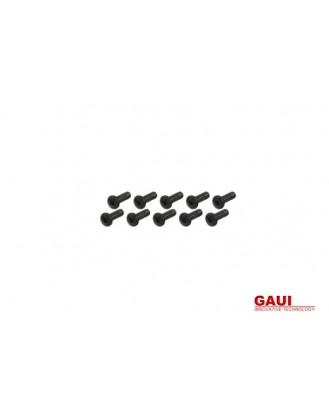 GAUI X5 SOCKET HEAD BUTTON SCREW – BLACK (M3X7) X 10 PCS [G-208859]