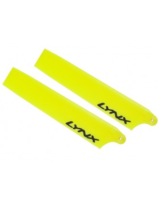 LX61054-R - Plastic Main Blade 105 mm - AXE 100 - Yellow