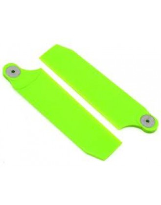 Extreme Edition Tail Blades – 112mm – Neon Lime -700 Size KBDD4082