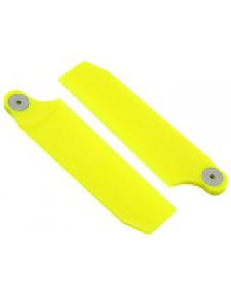 Extreme Edition Tail Blades – 112mm – Neon Yellow 700 Size KBDD4086