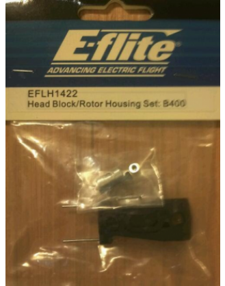 Blade 400 Head Block/Rotor Housing EFLH1422