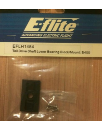 Blade 400 Tail Drive Shaft Lower Bearing Block/Mount EFLH1454