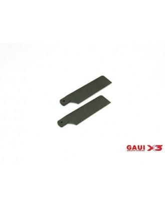 GAUI X3 TAIL ROTOR BLADE SET(62MM) [G-216161]