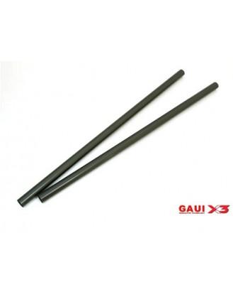 GAUI X3 TAIL BOOM (BLACK ANODIZED) X 2 PCS [G-216204]