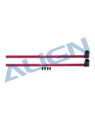Align 150 Tail Boom-Red [H15T002XRW]