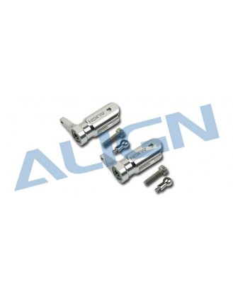 H25003AFT Metal main Rotor Holder Set Silver 4713413950027