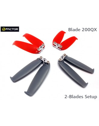 200QX 2-Blades Prop set  4 Blade Grips, 12 Blades HF200QX02