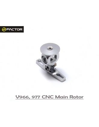 V966 / 977 CNC Aluminium Rotor Head [HFV97701]