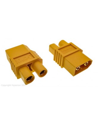 HYPERION XT60 MALE TO EC3 FEMALE CONVERTER 2 PCS HP-CONXT60ES