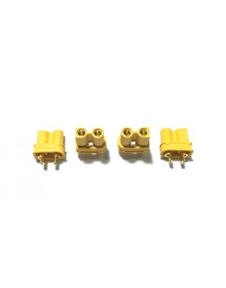 HYPERION XT30U UPGRADED XT30 2MM CONNECTOR 4 FEMALE HP-CXT30U04F