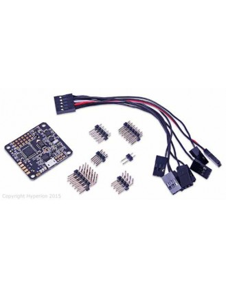 NAZE 32 FULL 10DF REV 5 FLIGHT CONTROLLER BOARD WITH PINS AND BREAKOUT CABLE HP-NAZE32-10