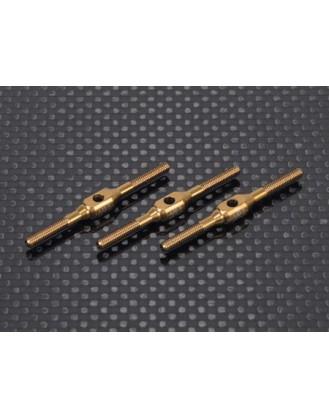 Ti Turnbuckles (M2.5x38 -3pcs) for Swash of Blade 550X,600X