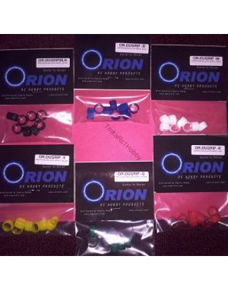 ORION RC DEANS ULTRA GRIPS (8 PCS) WHITE OR-DUGRIP-W