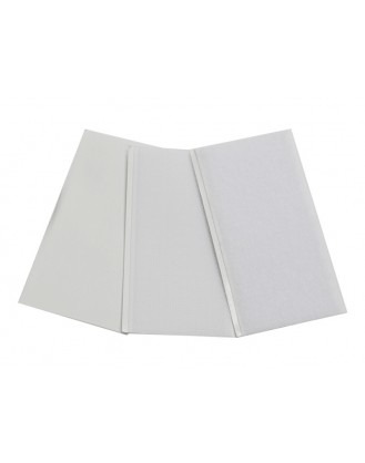LX0248 - Hook & Loop HD Adhesive Pad 50x100 - (10H + 12L) - White Color