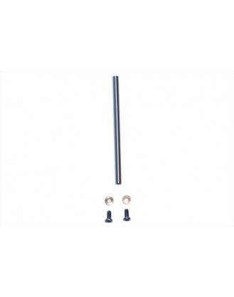 LX0372 - 130 X - Carbon Steel Spindle Shaft