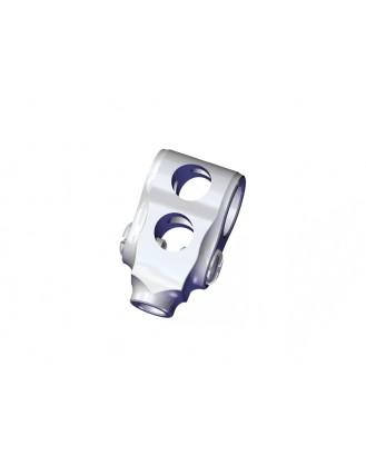 LX0409 - NANO CPX - Precision Aluminum DFC Center Hub - Silver