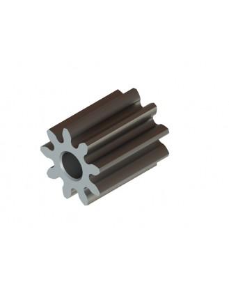 LX0440 - Hardened Pinion 9T MOD 0.4 - 1.5 Shaft