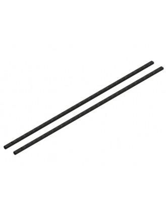 LX0443 - NANO CPX - Solid CF Tail Boom, SET 2 PC