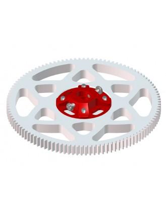LX0449 - 130 X - Ultra Main Gear Hub - 112T - Red Devil Edition - Combo