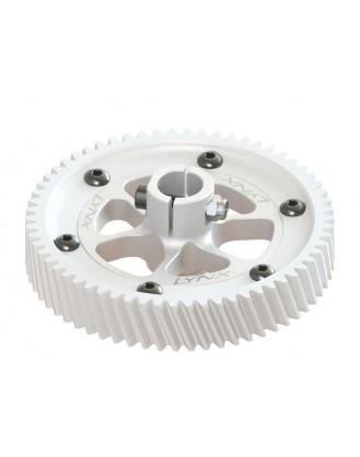 LX0512 - GOBLIN 500 - CNC Ultra Main Gear Set - Silver