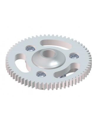 LX0562 - MCPX-BL - Ultra Main Gear Hub - Main Gear 64T - Silver