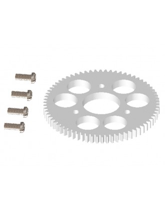 LX0596 - NANO CPX - CNC Main Gear 70T - Spare Set
