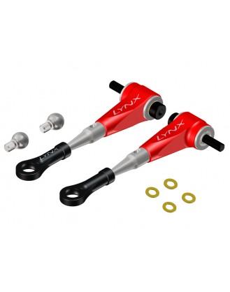 LX0606 - T-REX 450 L / PRO - Ultra DFC Arm - Set - Red Devil