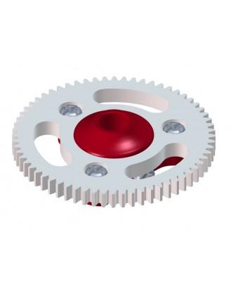 LX0646 - MCPX BL - Ultra Main Gear Hub - Main Gear 64T - Set - Red Devil Edition
