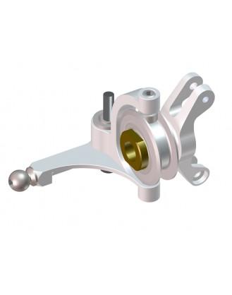 LX0647 - Goblin 500 - Precision Tail Bell Crank Lever - Replica - Silver
