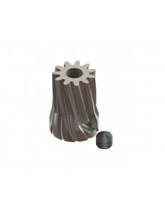 LX0704 - Steel Pinion Slant 12T Mod 0.6 X 3.17 mm Motor Shaft