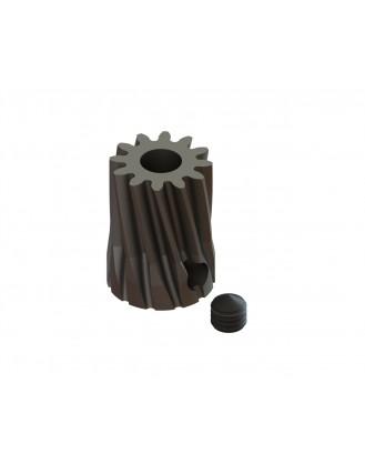 LX0707 - Steel Pinion Slant 12T Mod 0.6 X 3.50 mm Motor Shaft