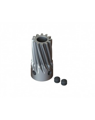 LX0710 - Steel Pinion Slant 12T Mod 0.7 X 5 mm Motor Shaft