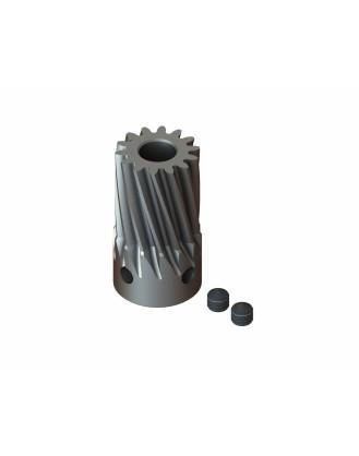 LX0712 - Steel Pinion Slant 14T Mod 0.7 X 5 mm Motor Shaft