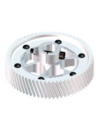 LX0751 - GOBLIN 700 - CNC Ultra Main Gear Set - Silver