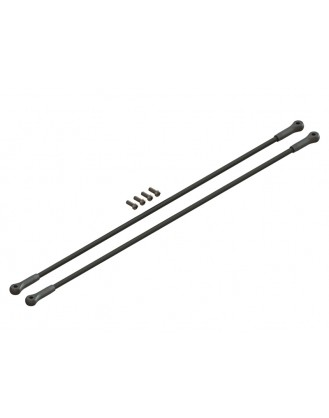 LX1110 - T 150 - Ultra Tail Boom Support Spare - Silver
