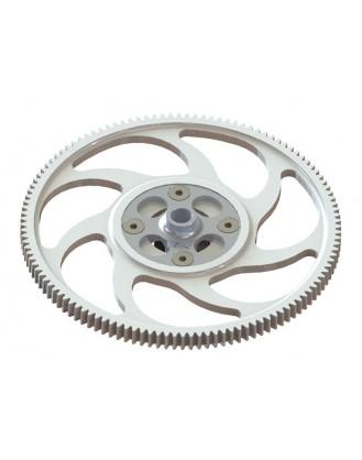 LX1252 - 200SRX - CNC Main Gear 120T - Combo - Silver