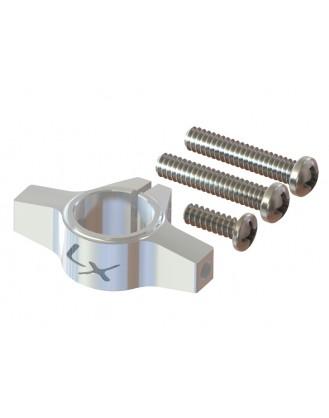 LX1256 - 200SRX - Ultra Tail Boom Clamp - Silver